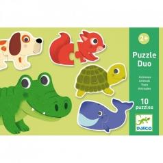 puzzle duo - animali