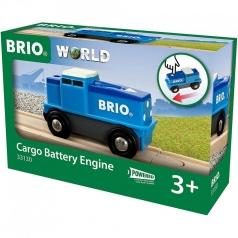 locomotiva blu a batteria