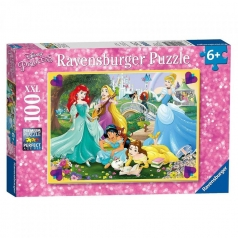 principesse disney - puzzle 100 pezzi xxl