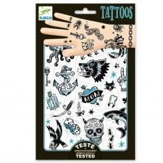 tatuaggi removibili - lato scuro