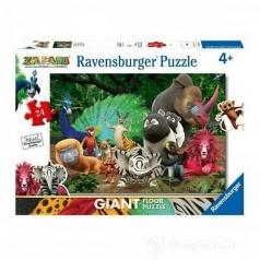 zafari - puzzle 24 pezzi pavimento