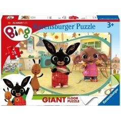 in cucina con bing - puzzle 24 pezzi pavimento