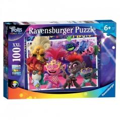 trolls 2 canta a squarciagola - puzzle 100 pezzi xxl