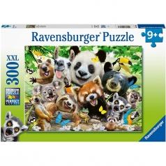 selfie selvaggio - puzzle 300 pezzi xxl