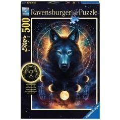 lupo splendente - puzzle 500 pezzi