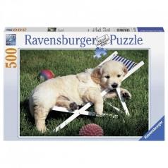 cuccioli a riposo - puzzle 500 pezzi