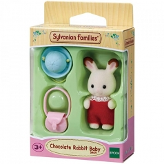 bebe coniglio cioccolato con accessori