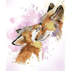 fox bliss - diamond dotz intermediate dd8.013 42x50cm