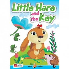 little hare and the key - smart readers level 3 + cd