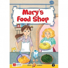 mary's food shop - smart readers level 2 + cd