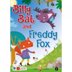 billy bat and freddy fox - smart readers level 1 + cd