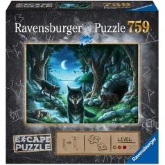 il branco di lupi - escape puzzle 759 pezzi