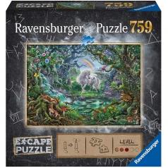 unicorno - escape puzzle 759 pezzi