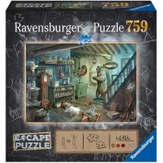 la cantina degli orrori - escape puzzle 759 pezzi
