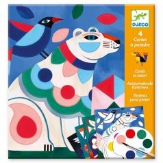 animali - disegni con acquarelli
