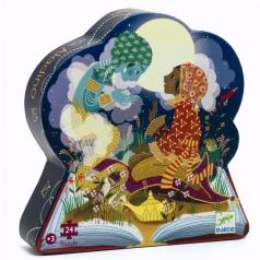 aladino - silhouette puzzle 24 pezzi