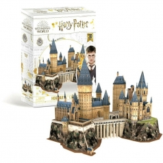 hogwarts castle - puzzle 3d 211 pezzi