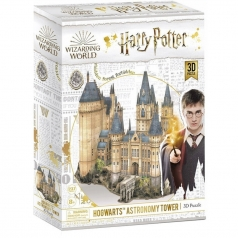 hogwarts astronomy tower - puzzle 3d 181 pezzi