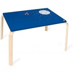 tavolo in legno luna e stelle 70x50x45cm