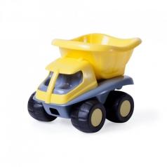camion con cassone giallo