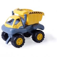 camion con cassone giallo monster truck grande