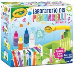 laboratorio dei pennarelli multicolori