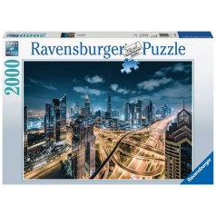 vista di dubai - puzzle 2000 pezzi