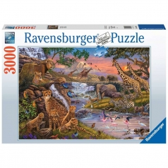 animal kingdom - puzzle 3000 pezzi