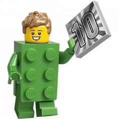 71027-13 - uomo mattoncino verde