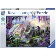 valle del drago - puzzle 2000 pezzi