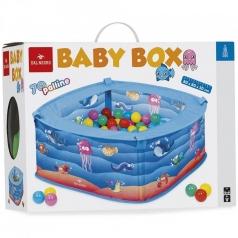 baby box pesciolini - box con 70 palline colorate