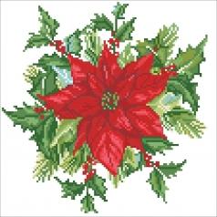 festive bouquet - diamond dotz intermediate dd5.055 32x32cm