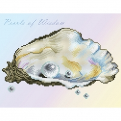 pearls of wisdom - diamond dotz intermediate dd5.070 35,7x27,7cm