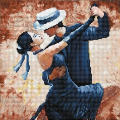 tango passion - diamond dotz intermediate dd8.015 41x41cm