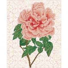 rose blush - diamond dotz intermediate dd9.052 40x50cm