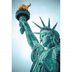 statue of liberty - diamond dotz intermediate dd12.052 47x70cm