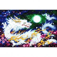 dragon flame - diamond dotz advanced dd15.021 91x60cm