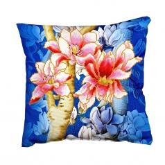 magnolias on blue 1 - diamond dotz advanced dd16.013 cuscino 45x45cm