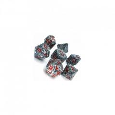 set di dadi speckled granito
