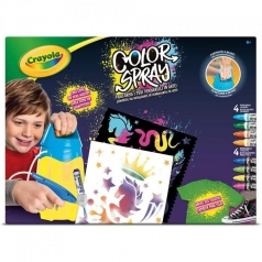color spray - aerografo manuale con colori per tessuti