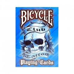 bicycle club tattoo - blue