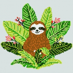 sloth - diamond dotz intermediate 51151 30,48x30,48cm