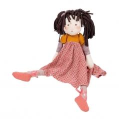 bambola rosalie in tessuto