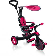 globber triciclo xplorer trike 4in1 red rosso