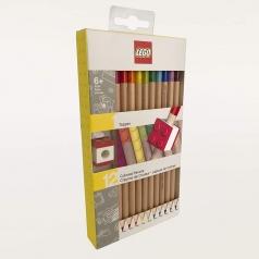 matite colorate 12 pezzi piu topper new brick