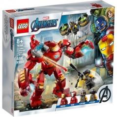 76164 - iron man hulkbuster contro l'agente a.i.m.