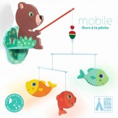 mobile orso pescatore