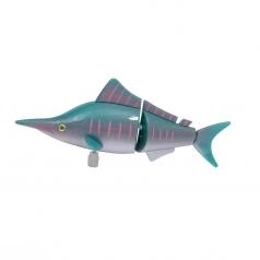 pesciolino a carica che nuota - pesce spada