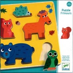 puzzle ad incastri in legno - frimours