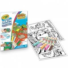 color wonder - amici dinosauri